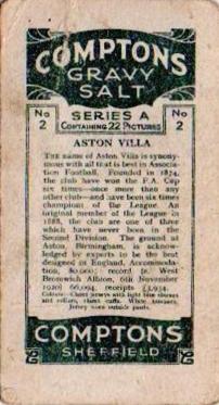 COM-430-1a COV-1-1 Aston Villa back